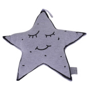 RainBabe Baby Luminous Twinkle Star Pillow Bulb Shaped Cartoon Comfort Toys