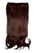 Brown 48 cm for Short Hair Weft Hairpiece for Women Girls Carnival Queen