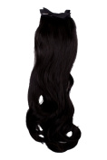 'Brown And Black 43 cm for Short Hair Braids for Women Girls Carnival Queen