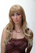 WIG ME UP ® - Wig Long Curled Curls Blond Platinum Tips 3224-27T613