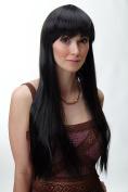 WIG ME UP ® - Wig very long straight bangs dark brown YZF-41062-4