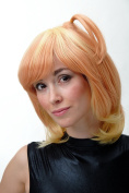 WIG ME UP ® - Cosplay Wig volume pigtail orange & blond SA081A-T0848-T1344