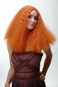 WIG ME UP ® - Wig Orange Curly Volume Middle Parting ZF-7304-T2735