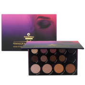 Weicici 14 Colours Shimmer & Matte Eyeshadow Palette Waterproof & Long Lasting Makeup Powder