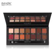 Powder Matt Eyeshadow Cosmetic Makeup, GreatestPAK Shimmer Glitter Eye Shadow 12 Colours