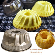 TianranRT Classic Nonstick Pineapple Chiffon Bakeware Mould Carbon Steel Fluted Cake Baking Pan Tool