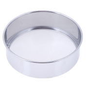 Demiawaking Flour Sifter 15cm Ultra-fine Stainless Steel Flour Sieve Kitchen Tools