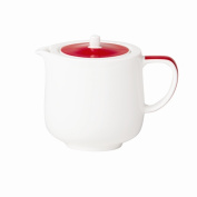Royal Porcelain GG300 Maxadura Edge Beverage Pots With Lid, 420 mL Capacity, Red