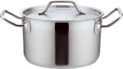 Home & Style 100864 Casserole Pot, Stainless Steel, Silver, 20 x 20 x 10 cm