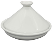 Porcelain range dedicated tagine pot 20cm white ID-12-1