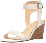 Jessica Simpson Women's Cristabel Wedge Sandal, Powder, 7 Medium US