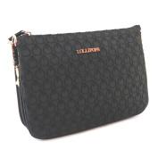 """Shoulder bag 'Lollipops'black (3 compartments)- 26x19x7 cm (10.24""""x7.48""""x2.76"""")."""