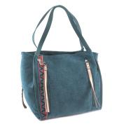 """Creative bag 'Lollipops'turquoise (2 compartments)- 38x30x15 cm (14.96""""x11.81""""x5.91"""")."""
