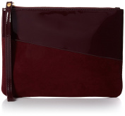 Miss KG Womens Tabby Clutch Red