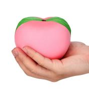 Squeeze Strap Kids Toy,Yanhoo 11CM Galaxy Honey Peach Cream Scented Squishy Slow Rising