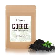 Liberex Full Coffee Body Scrub - Improved Formula with Organic Robusta Coffee Bean for Anti-Cellulite, Stretch Mark, Fat Lines, Acne Eczema Treatment, 200 g