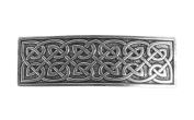 Oberon Design Large Celtic Hair Clip | Hand Crafted Metal Barrette With Imported French Clips