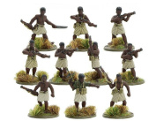 Warlord Games, Papuan Infantry Battalion section (Pacific), Bolt Action Wargaming Miniatures