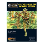 Warlord Games, Australian militia infantry section (Pacific), Bolt Action Wargaming Miniatures