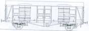 Parkside Dundas PC47 SR Cct Parcel Van Plywood Sides
