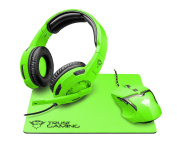 Trust Gaming GXT 790-sg Spectra Gaming 3 in 1 package, Green