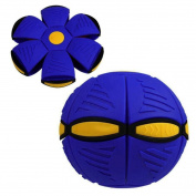 Winkey UFO Deformation Ball Soccer Magic Flying Football Flat Throw Ball Toy Game