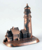Lighthouse Die Cast Metal Collectible Pencil Sharpener