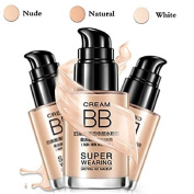 BIOAQUA Makeup Foundation,Waterproof Liquid Foundation Whitening Moisturising Concealer BB Cream Makeup Face Isolation