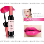 Prevently New Women Creative Red Wine Shape Waterproof Lip Gloss Matte Velvet Long Lasting Lipstick Bottle Cosmetic