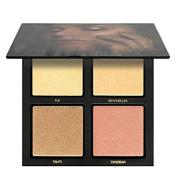 KAMOKU101 4 Colours Eyeshadow Palette Makeup Cosmetics Professional Highlighting Eye Palette