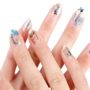 QUINTRA Nail Art Transfer Design Manicure Tips Decal Decoration Butterfly Stickers