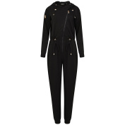 Bronzie Chelsea Black Jumpsuit After Tan Garment for Tan Protection Small/Medium