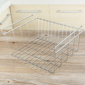 L Cabinet Hanging Basket Stainless Steel Nail-free Kitchen Bedroom Supplies