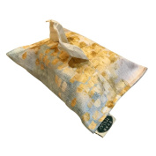 Chenille Material Thickened Gold Printed Napkin Tissue Box
