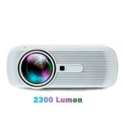 2300Lumen Portable HD 3D LED Projector Home Cinema Theatre VGA USB AV HDMI White