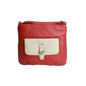Eastern Counties Leather Womens/Ladies Jemma Contrast Pocket Handbag