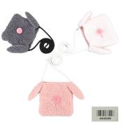 ADIASEN 3pcs Warm Wool Bags Handbag For Toddlers Girl Baby