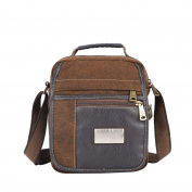 Men's Retro Canvas Bag New Shoulder Bag Fashion Casual Bag