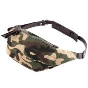 FANMINGSIDI MENS Camouflage Handbag Waist bag For Man Canvas Clutch Bag Crossbody bag Business Wrist Bag