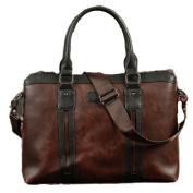 NUBEN Men Shoulder Bag Laptop Messenger Bags Casual Synthesis Cowhide Tote