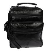 Christian Wippermann® Men's Shoulder Bag grey model 1 24 x 27 x 14 cm