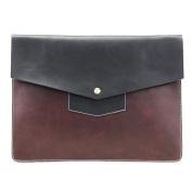 FANMINGSIDI MENS Handbag For Man Clutch Bag Crossbody bag Business Black Wrist Bag Black Brown