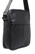 KARL LOVEN Men's Shoulder Bag black black
