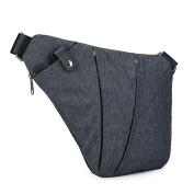 timeracing Fashion Multi-pockets Men Crossbody Chest Bag Anti-Theft Shoulder Pack