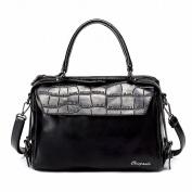 Handbag Female Simple Handbag Fashion Messenger Bag Shoulder Bag , black