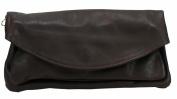 BOZANA Women's Shoulder Bag Brown dark brown