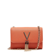 Valentino by Mario Valentino Women's Divina Sa Cross-Body Bag Orange