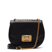 Valentino by Mario Valentino Womens Girello Cross-Body Bag Black