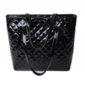 LA HAUTE Women PU Leather Handbags Large Shopper Tote Bags Fashion Designer Shoulder Bag
