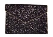 Rebecca Minkoff Glitter Leo Clutch purple_violet x